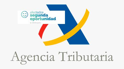 Agencia Tributaria. Ley Segunda Oportunidad